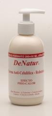 Crema anticelulitica quemagrasas denatur