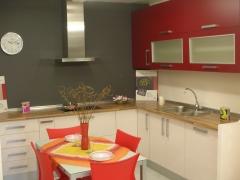 + muebles laminados+ encimera laminada...1.330 EUR sencillez y economia.