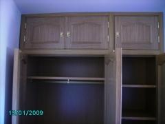 Interiores / frentes de armarios provenzales de roble