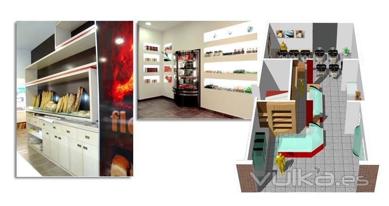 Foto interiorismo y dise o mobiliario pasteleria - Interiorismo y diseno ...