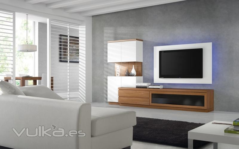 Foto fotos salones modernos comedores modernos for Muebles kibuc salones