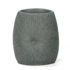 Hogar ba�o coral gris vaso en lallimona.com
