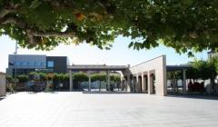 Plaza de espa�a en castej�n, navarra a 10 minutos de tudela y bardenas reales