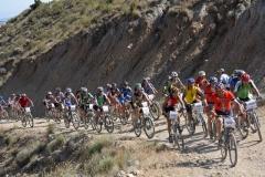 Extreme bardenas en Arguedas, Navarra