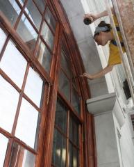 Restauración de la fachada del aytmo. de s/c de la palma