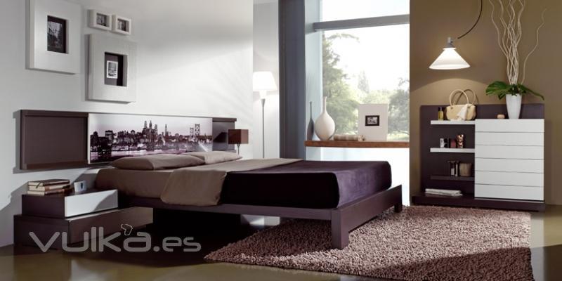Foto dormitorios modernos salvany - Galeria comercial del mueble arganda ...