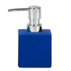 Hogar ba�o flocat azul dosificador en lallimona.com
