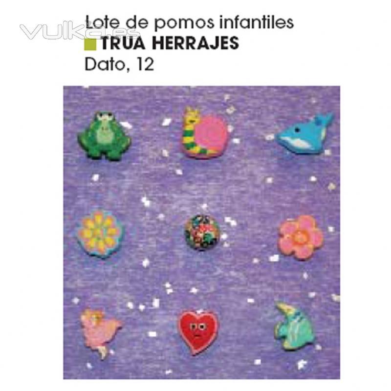 Foto publicidad pomos infantiles trua en la revista aki - Pomos armarios infantiles ...
