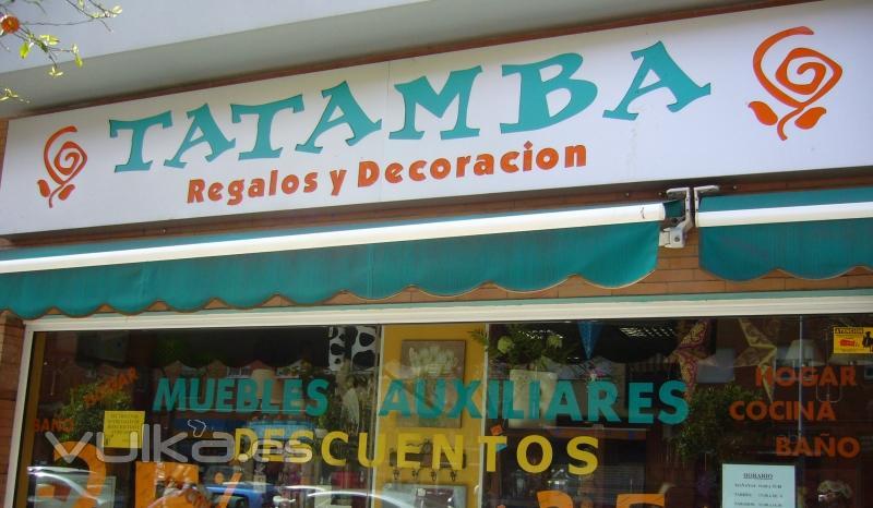 Tatamba decoraci n y regalos originales for Tiendas de decoracion en sevilla