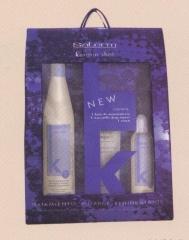 Champ�+mascarilla+serum de Keratina para el cabello, restructurante e hidratante