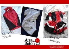 Disfraces 2010.- Dr�cula y Reina de Corazones