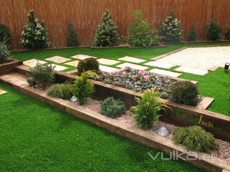 Foto cespedjardin dise o jardiner a e instalaci n de for Diseno virtual de jardines gratis