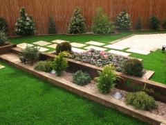 Cespedjardin: dise�o, jardiner�a e instalaci�n de cesped artificial