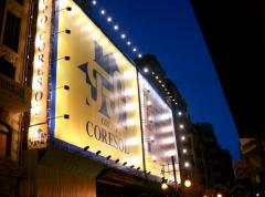 Lona iluminada fachada Capitol de Valencia
