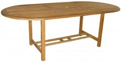 Mesas ovaladas y rectangulares varias medidas economicas teka