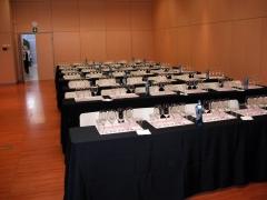 Cata de vinos de bulgaria sl en la feria catavins de sabadell, nov. 2010