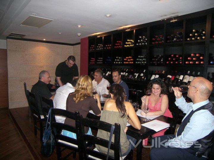 Cata de Vinos de Bulgaria SL en Palma de Mallorca, Oct. 2010