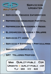 QualityPubli, repara de urgencia, arregla consola, ordenador, portatil, netbook, red