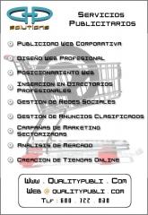 QualityPubli, servicios publicitarios web. Anuncios clasificados, directorios profesionales