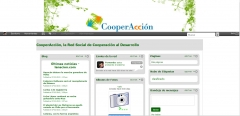 Cooperaccion.net - red social para mundo unigo ong