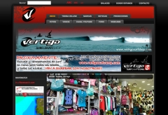 Web www.vertigosurfshop.com en jerez