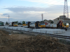 Camiones con pluma