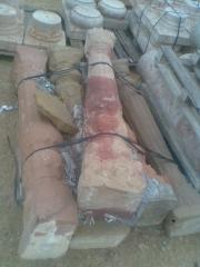 Columnas de piedra antiguas