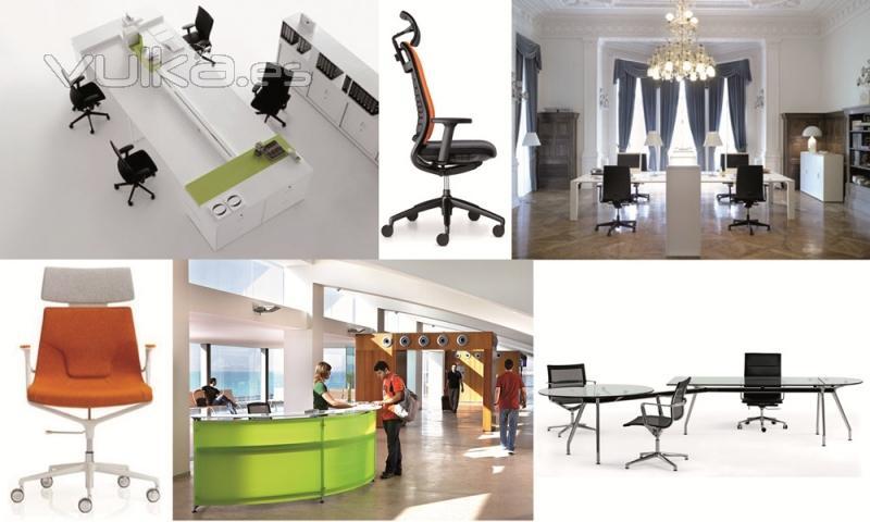Foto mobiliario de dise o para oficinas for Empresas de mobiliario de oficina