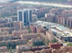 Zaragoza: edificios oficinas y congresos wtcz  y centro comercial grancasa