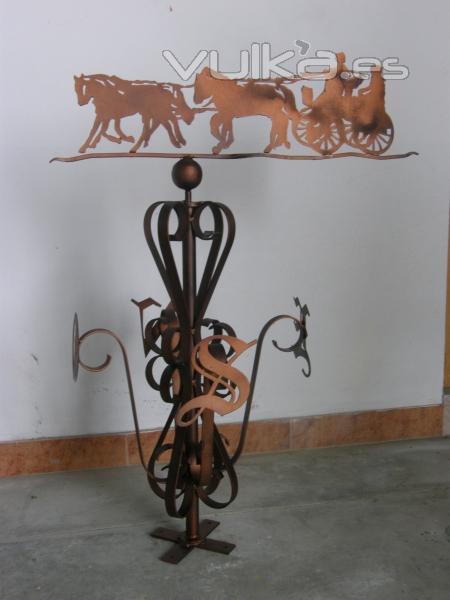 Veleta artesanal