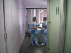 Instalaciones de la clínica oftalmológica excimer láser palma