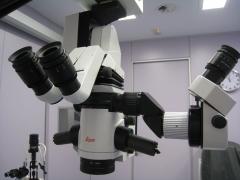 Microscopio de microcirugía ocular