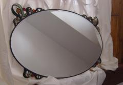Cot� campos  espejo detalle art nouveau