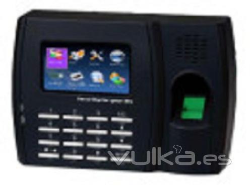 Control de presencia Biométrico con pantalla a color