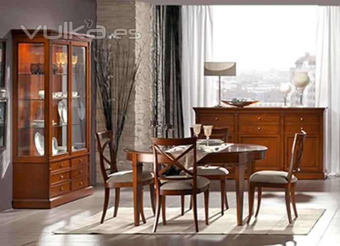 Muebles navaderri for Decoracion comedor clasico