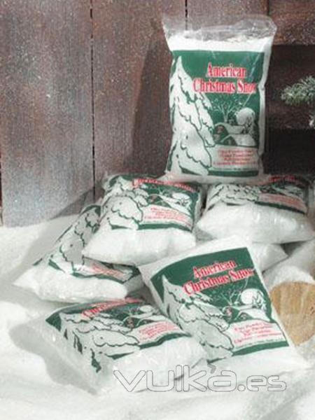 Foto nieve artificial para tus decoraciones - Comprar arboles de navidad decorados ...