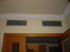 Rejillas de aire acondicionado por conductos