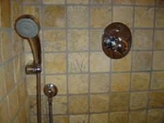 Grifería de ducha termostática empotrada