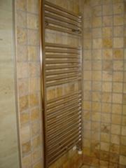 Radiador toallero por agua