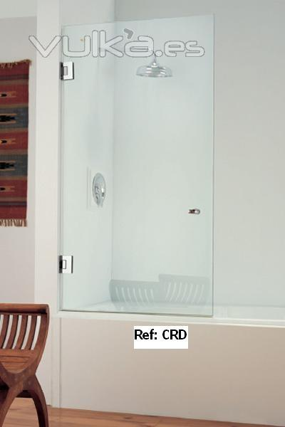 Foto mampara de baño de cristal