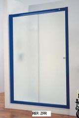 Mampara de ducha color
