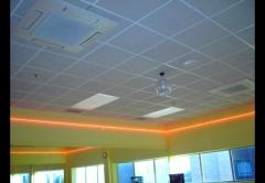 Montaje de falsos techos fitness first palma