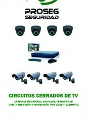 Equipo de CCTV compuesto de 4 cámaras + Grabador 250GB desde 399EUR