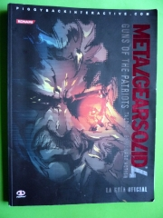 MANUAL JUEGO METAL GEAR SOLID 4