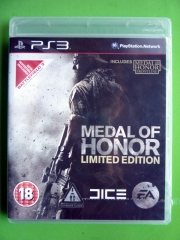 PS3 MEDAL OF HONOR NUEVO Y PRECINTADO!!!