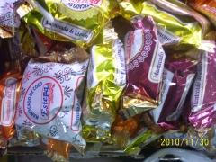 Polvorones de estepa,variantes morera