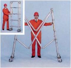 Andamio de aluminio - Modulo plegable
