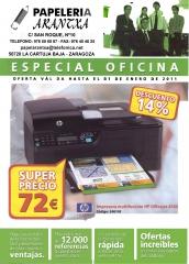 Portada folleto oficinas diciembre 2010 - enero 2011