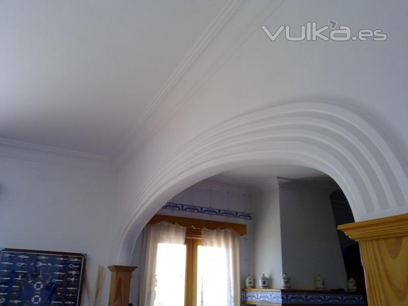 Foto: arco decorado artesanalmente