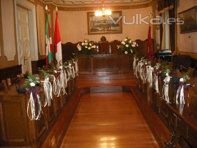 foto: boda civil en el ayuntamiento